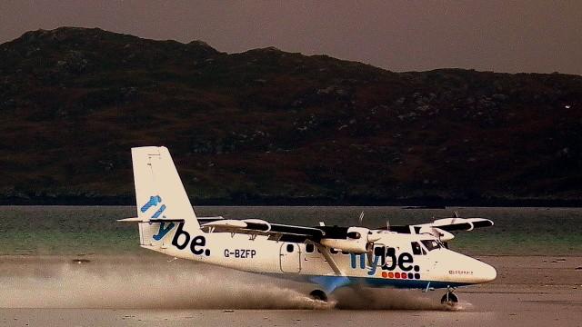 Mit FlyBe von Barra nach Glasgow