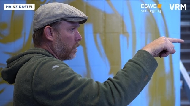 Bahnhof Mainz-Kastel: Graffiti statt Tristesse