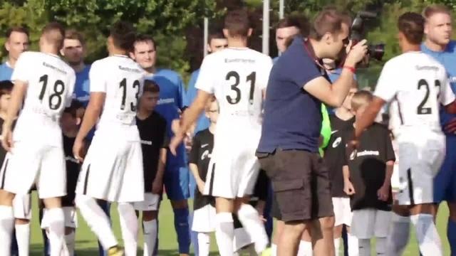 SG Treis/Allendorf spielt gegen die Eintracht Frankfurt