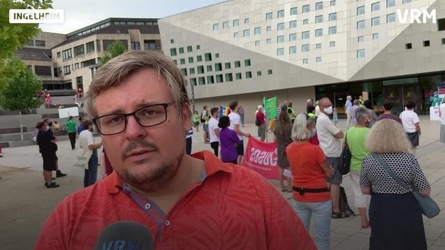 Demo gegen Rechts in Ingelheim