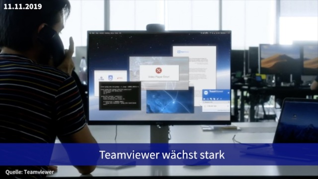 Aktie im Fokus: Teamviewer wächst stark