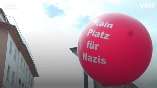 Rechten-Demo in Worms weitgehend friedlich