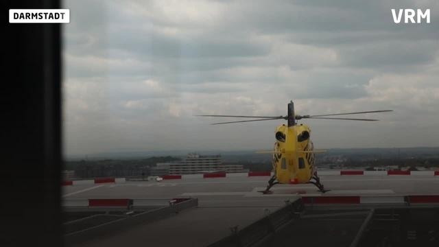 Neuer Hubschrauberlandeplatz des Klinikums Darmstadt