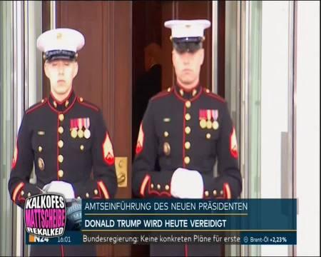 Melania Trump - Style bei der Amtseinführung