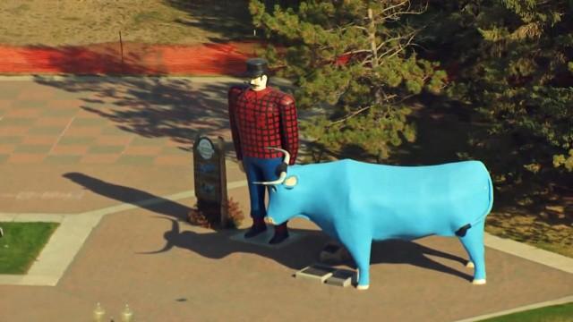 Minnesota aus der Luft