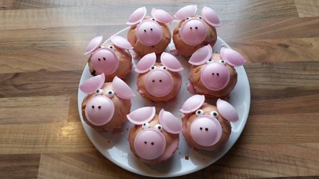 Mach mit: Schweinchenmuffins