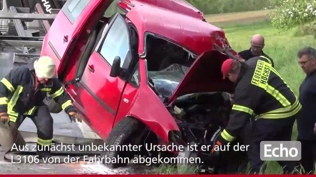 Tödlicher Verkehrsunfall bei Höchst im Odenwald