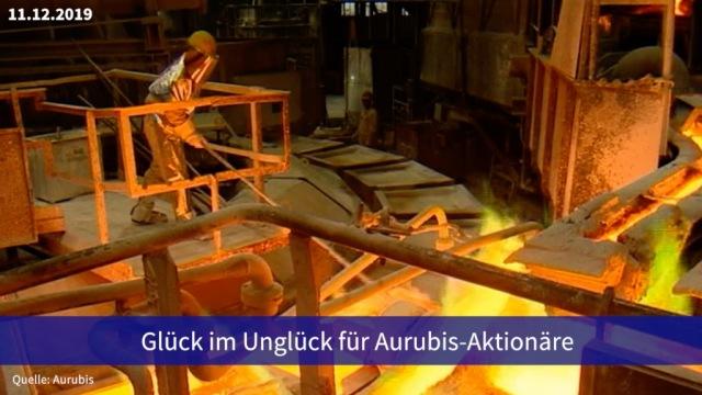 Aktie im Fokus: Glück im Unglück für Aurubis-Aktionäre