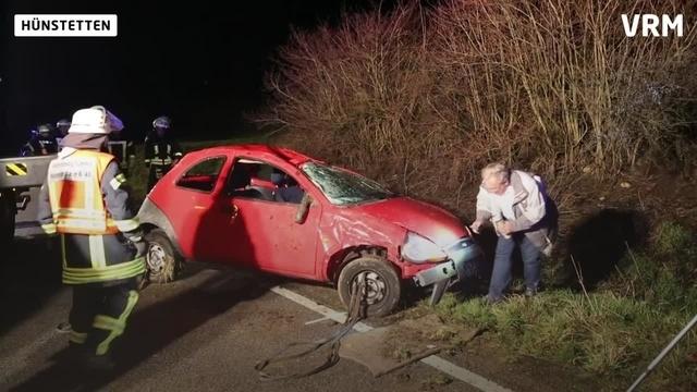Frau bei Unfall auf L3275 schwer verletzt