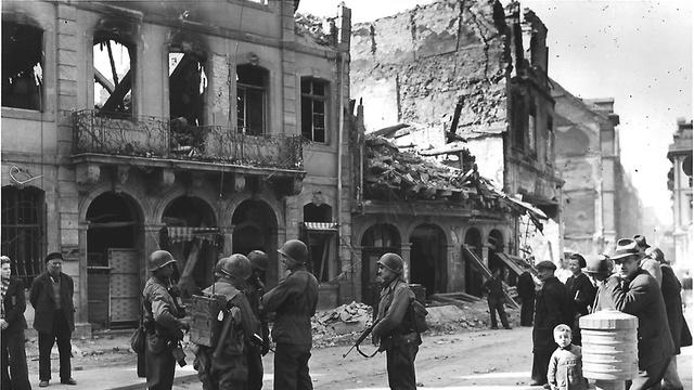 Kriegsende in Mainz: Der Einmarsch