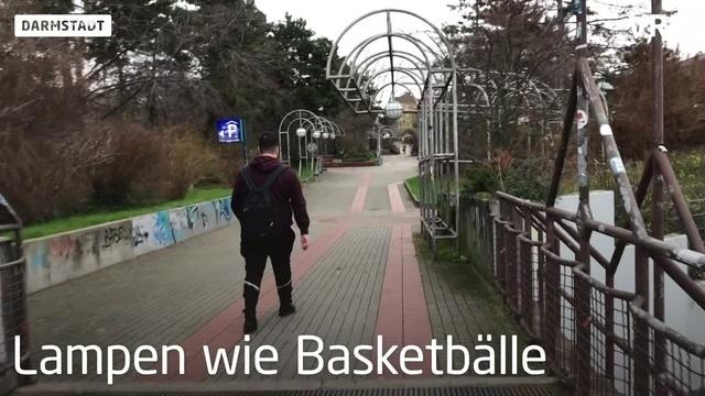 Darmstadts hässlichste Orte -Platz 1: Kleinschmidtsteg