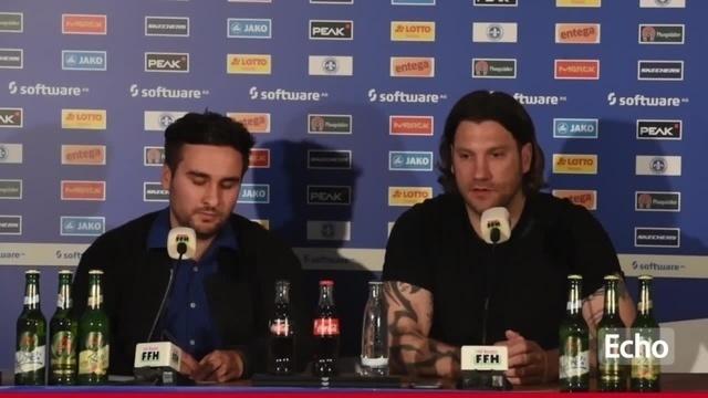 Pressekonferenz des SV Darmstadt 98 zum Spiel gegen den Hamburger SV und den Lizenzauflagen der DFL