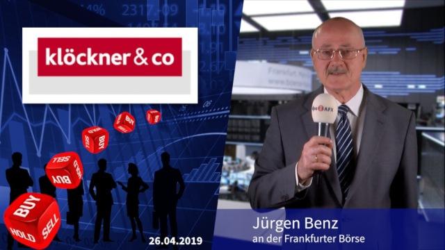 Analyser to go: Klöckner & Co. kassiert Gewinnziel - Abstufung