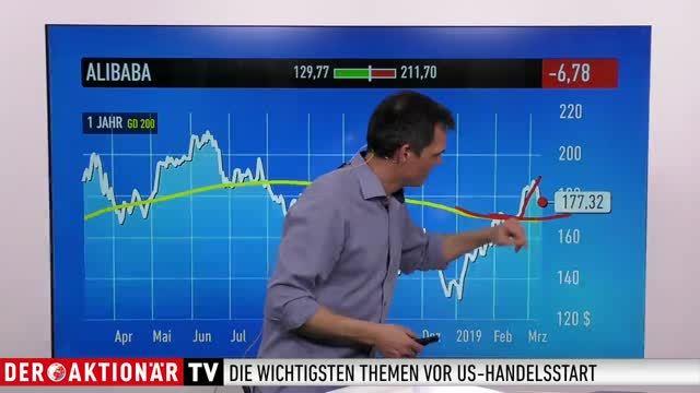US-Markt: Pfizer, Amazon, Alibaba, T-Mobile US