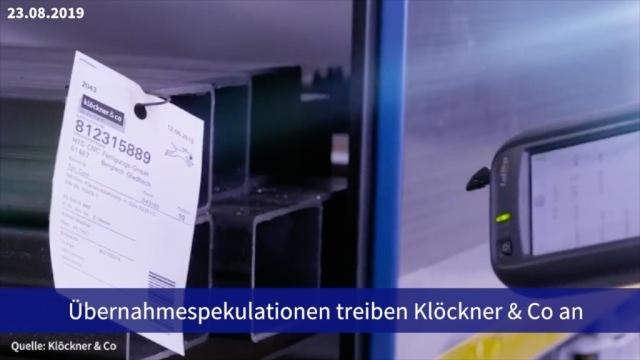 Aktie im Fokus: Übernahmespekulationen treiben Klöckner & Co an