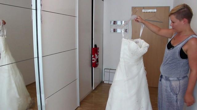 Brautkleid, ungetragen, zu verkaufen!