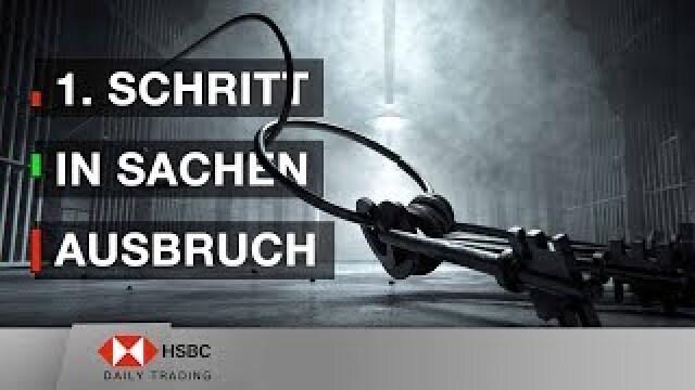 1. Schritt in Sachen Ausbruch - HSBC Daily Trading TV vom 11.06.2019