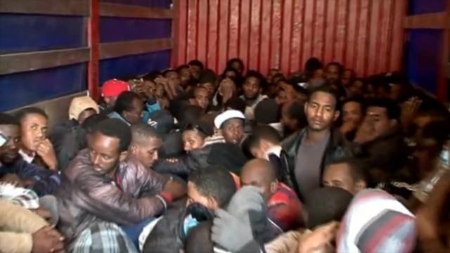 Menschenschmuggel in Libyen