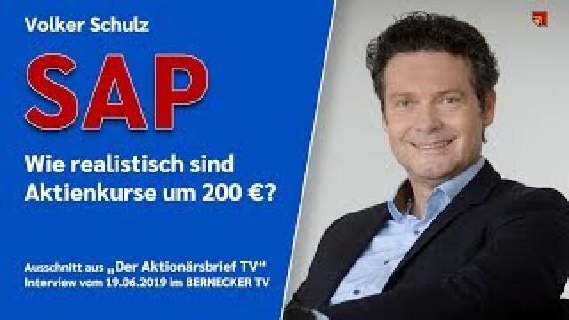 Kann die SAP-Aktie auf 200 € steigen?