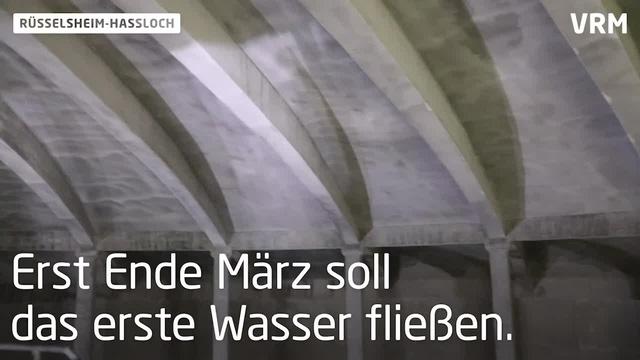 Sanierung des Wasserspeichers in Rüsselsheim-Haßloch