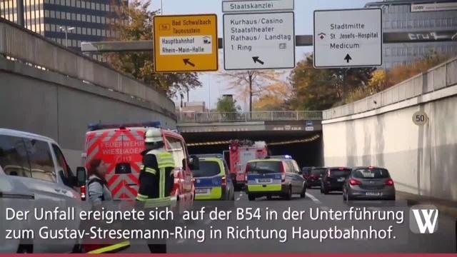Wiesbaden: Unfall mit zwei Toten