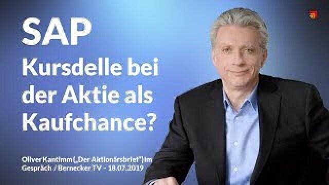SAP - Kursdelle als Kaufchance?
