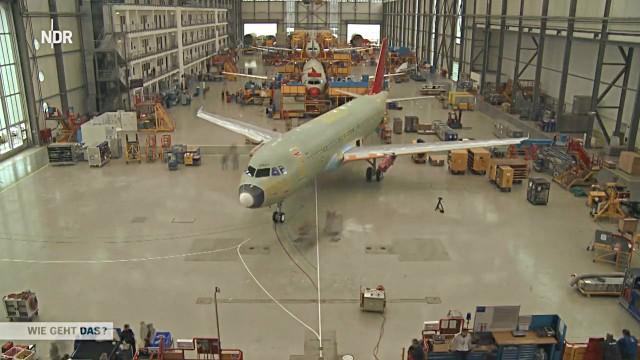 Airbus-Fabrik Finkenwerder