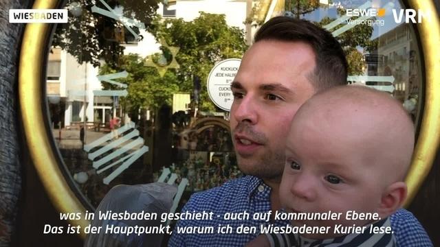 75 Jahre Wiesbadener Kurier - treue Leser gratulieren