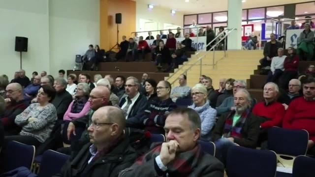 Diskussionsrunde zur Ortsumgehung Lauterbach-Wartenberg