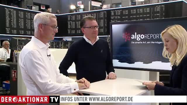 ALGOReport - überdurchschnittliche Performance in nur wenigen Wochen