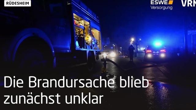 Rüdesheim: Siebenjähriger stirbt bei Brand