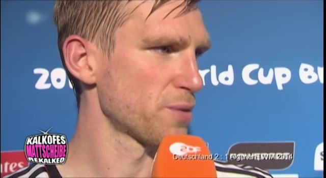 WM 2014 - Peer Mertesacker - Eistonne