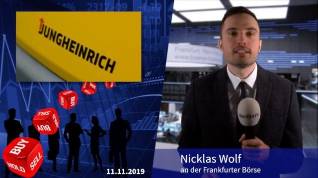 Analyser to go: Zu hohe Markterwartungen bei Jungheinrich?