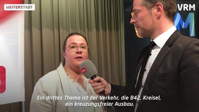 Podiumsdiskussion zur Bürgermeisterwahl in Weiterstadt