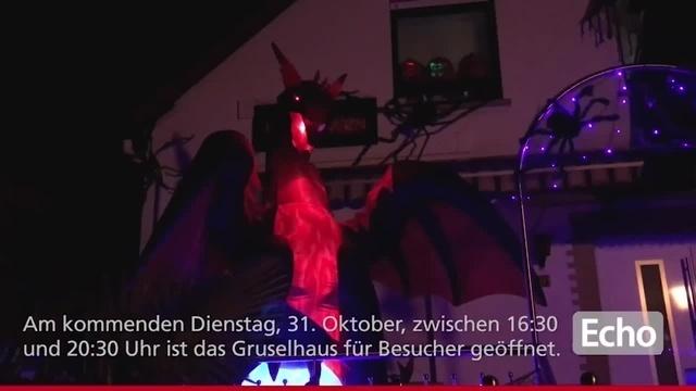 Das Gruselhaus lockt zu Halloween nach Roßdorf