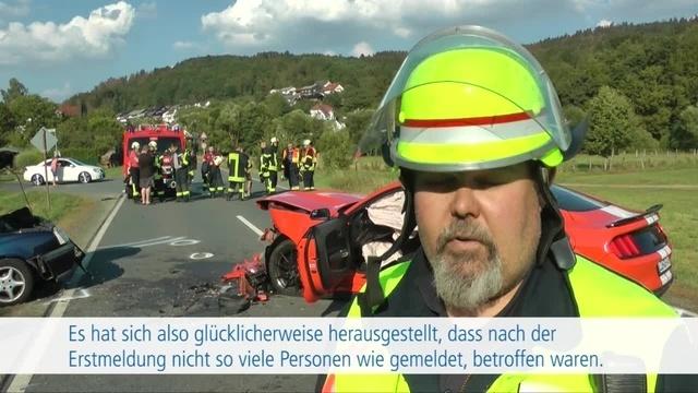 Unfall zwischen Haiger und Rodenbach