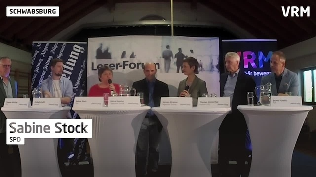 AZ-Wahlforum in Nierstein