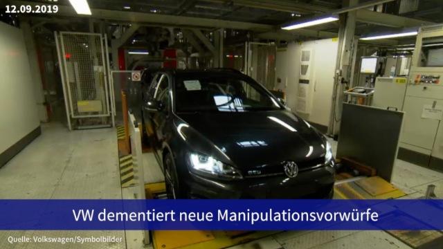 Aktie im Fokus: VW dementiert neue Manipulationsvorwürfe