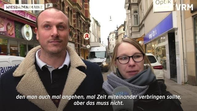 Was denken Mainzer & Wiesbadener über den Valentinstag?