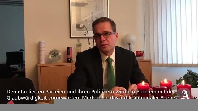 Fragen an Steffen Unger, Bürgermeister der Verbandsgemeinde Alzey-Land