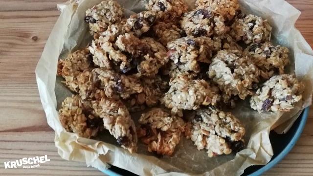 Mach mit: Müsli-Kekse