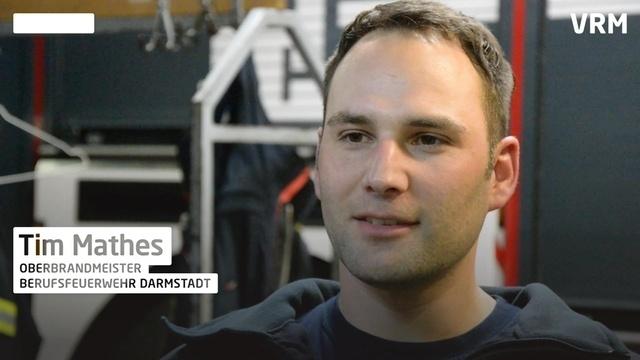 24 Stunden bei der Feuerwehr Darmstadt: Tims Antrieb
