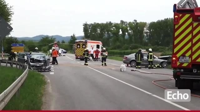 Schwerer Verkehrsunfall bei Lorsch