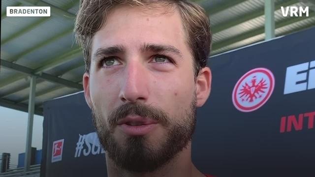 Interview mit Eintracht-Keeper Kevin Trapp in Florida