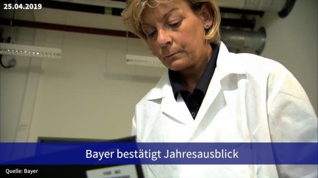Aktie im Fokus: Bayer bestätigt Jahresausblick
