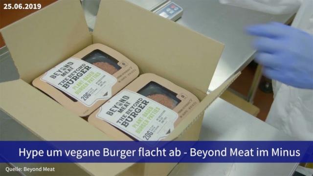 Aktie im Fokus: Hype um vegane Burger flacht ab - Beyond Meat im Minus