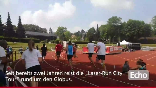 Darmstadt: Erster Laser-Run in Deutschland