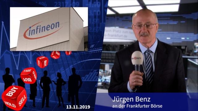 Analyser to go: Infineon doppelt hochgestuft - Hoffnungen geweckt