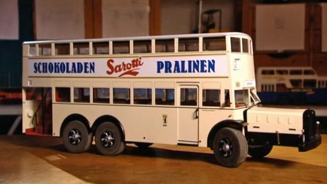 Oldtimer-Stadtbus im Kleinformat