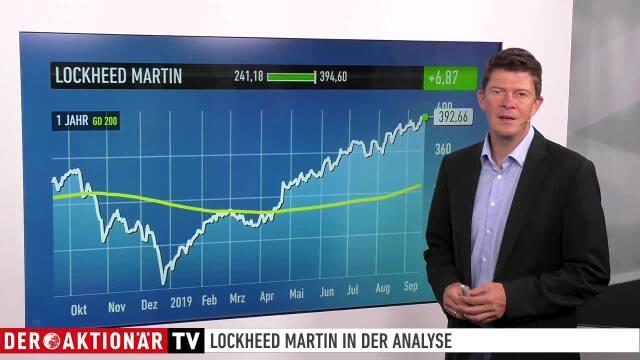 Trading-Tipp des Tages: Lockheed Martin - Aufwärtstrend weiter intakt